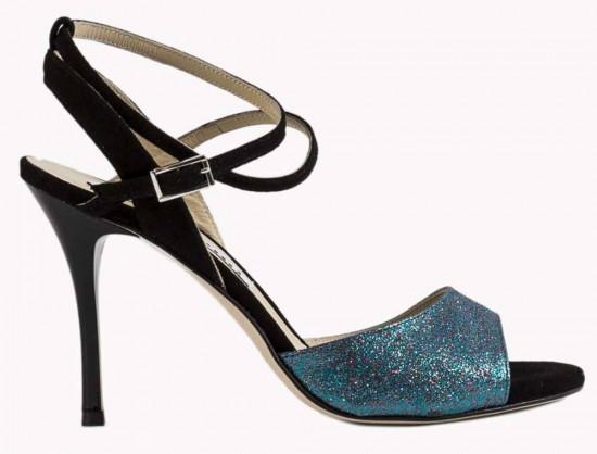 Maia Blue Glitter