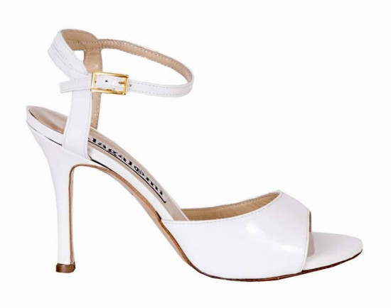 Maquina Tanguera White Patent Leather