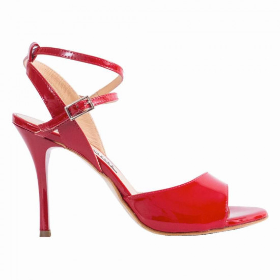 Maia Red Patent Leather