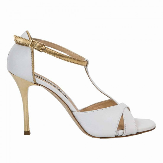Mariposa White and Gold