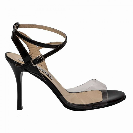 Maia PVC and Black Patent Leather