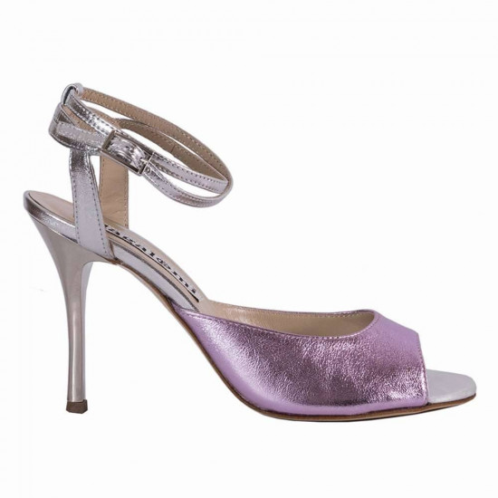Gloria Metal Pink and Silver