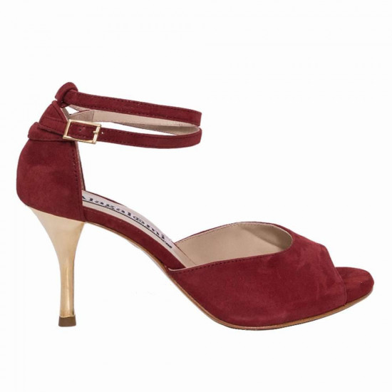 Lily Glossy Bordeaux