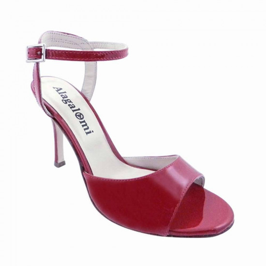 Maquina Tanguera Red patent Leather