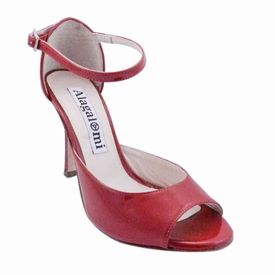 Flor Red Patent Leather