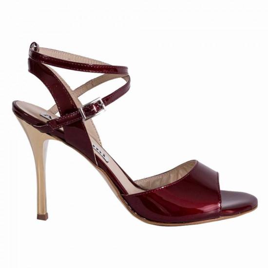 Maia Bordeaux Patent Leather