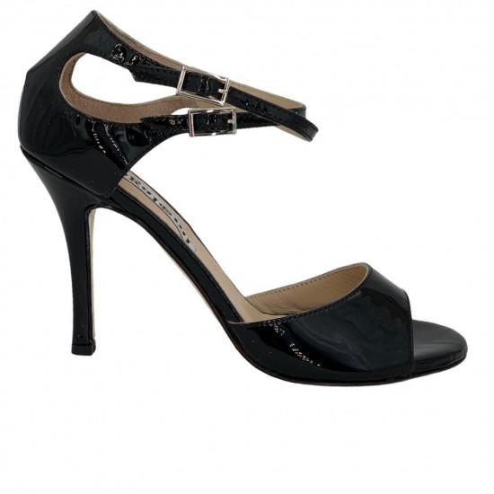 Soho Black Patent Leather