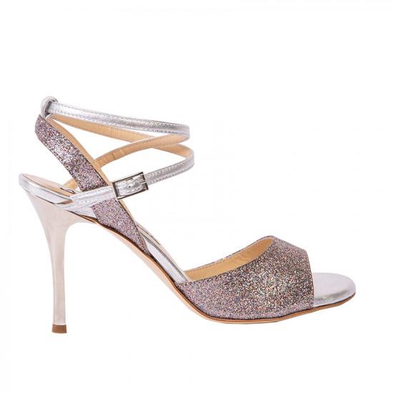 Maia Glitter Arcobaleno e Argento